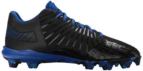 Adidas Heren Buitenissig X Carbon Mid Honkbal Schoen Kern Zwart, Helder Koninklijk, Collegiale Royal