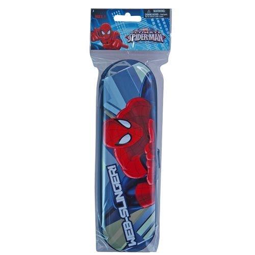 Ultimate Spiderman Personalized Tin Zipper Pencil (Personalized Pencil Cases)