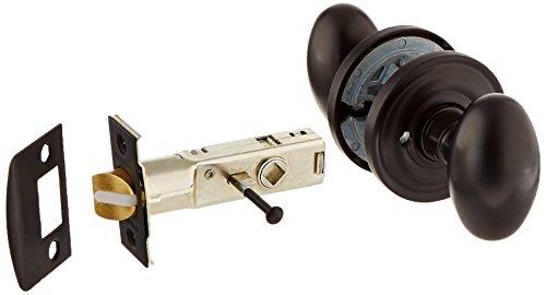 Baldwin Oval Door Knob - Baldwin 5025.102.PRIV Solid Brass Door Knob