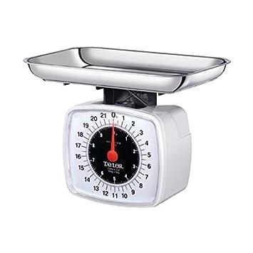 Taylor 3880 22 Libra báscula de cocina alimentos escala: Amazon.es: Hogar