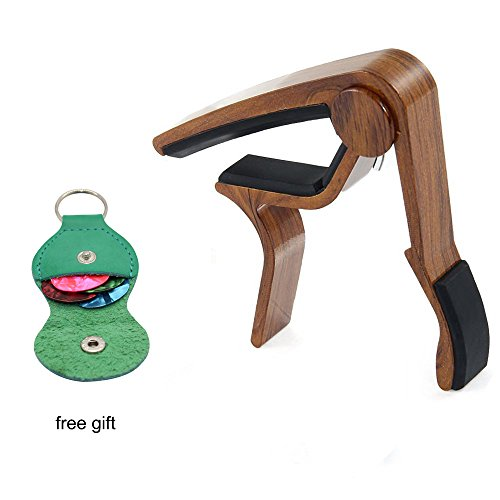 Wood Painting Guitar Capo Holder product image