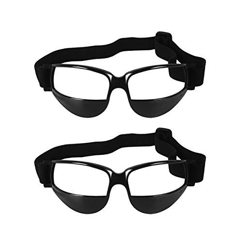 Sports Basketball Dribble Goggles Specs, UCEC Basketball Goggles, Sports Goggles Sports Dribble Specs Basketball Training Aid (2 Pack)