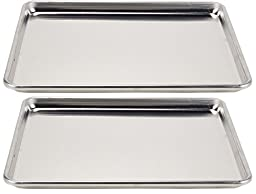 Vollrath Wear-Ever Collection Half-Size Sheet Pans, Set of 2