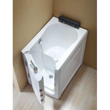 Vasca da bagno con sportello di ingresso per anziani e disabili con ...