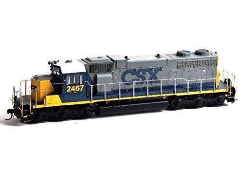 Athearn ATH88581 HO RTR SD38 w/DCC & Sound, CSX (Athearn Ho Locomotives)