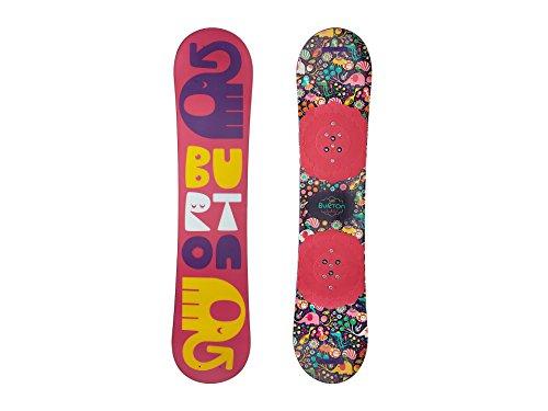 Burton Kids Women's Chicklet '18 120 (Youth) Multi 120 (Burton Chicklet Snowboard)