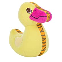 OUTWARD HOUND Kyjen Tiger Seamz Duck, Small