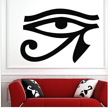 Pvc extraíble antigua leyenda egipcia Horus ojo etiqueta de la ...