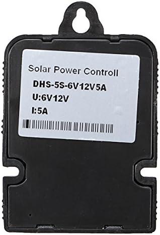 MYAMIA 6V/12V 5A/10A Pwm Solarregler Laden Regler Mit Intelligenter LED-Anzeige