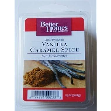 Vanilla Caramel Spice Scented Wax Cubes