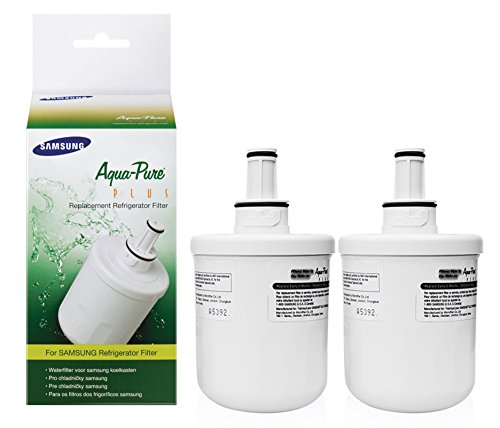 Price comparison product image Samsung Genuine DA29-00003G Aqua-Pure Plus Refrigerator Water Filter,  2-Pack