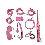 LAFSW Plush Set of 7 Alternative Toy Bundle Tied Series,Pink