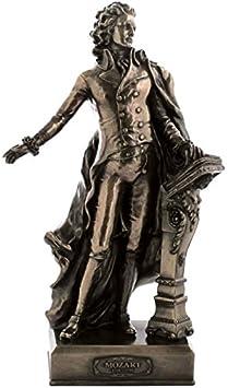 12.75 Inch Wolfgang Amadeus Mozart Cold Cast Bronze Figurine