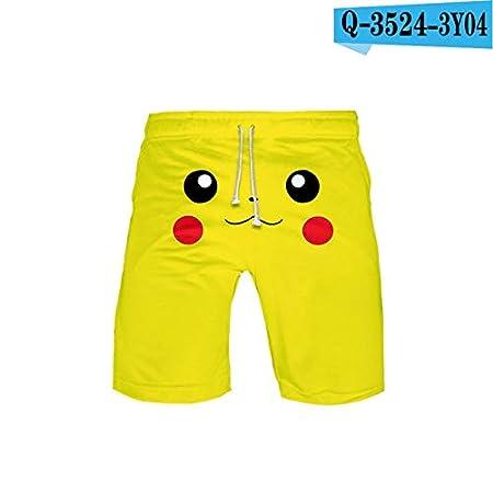 3D Pokemon Pikachu for hombre Traje de baño Pantalones ...