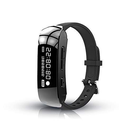 Benfa Voice Recorder Bracelet Digital Audio Recorder Watch Wristband,Professional Recording Noise Reduction/ MP3 Player,8GB (Waterproof Mp3 Player Wristband)