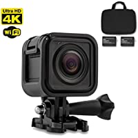 4K WIFI Sports Mini Action Camera (Black) Ultra HD Waterproof DV Camcorder