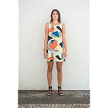 Vestido 60 estampa Urbanos