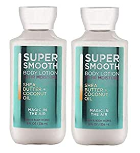 Body Works 2 Pack Magic in The Air Super Smooth Body Lotion 8 Oz