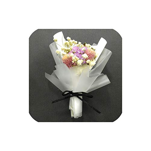 Gift Box Lover Natural Favors Crafts Decoration Valentine's Day Preserved Artificial Flower Bouquet Anniversary Wedding - Lilly Favor Wedding Flowers