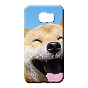 samsung galaxy s6 edge cases Scratch-proof Hot Style phone cases covers dogs funny puppies shiba inu