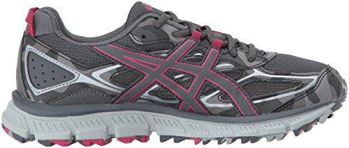 Asics Donna Gel-scram 3 Trail Runner Carbonio / Carbonio / Rosa Cosmo