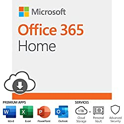 One solution for your family across all your devices*. With Office 365 Home, you and your family get Word, Excel, PowerPoint, Outlook, and more. Work anywhere with apps that are always updated with the latest features. 12-month subscription for up...