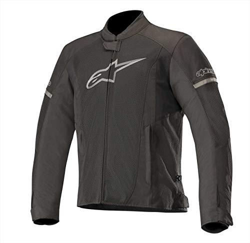 - T-Faster Air Textile Street Motorcycle Jacket (M, Black Black)
