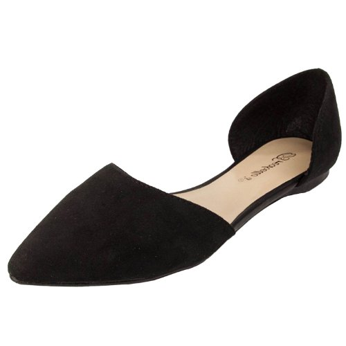 Breckelles+Dolley-52+Slip+On+Boots%2C+Onyx+Suede%2C+7.5