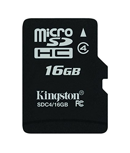 2215 opinioni per Kingston SDC4/16GB Memoria MicroSDHC senza Adattatore SD, 16 GB, Class 4