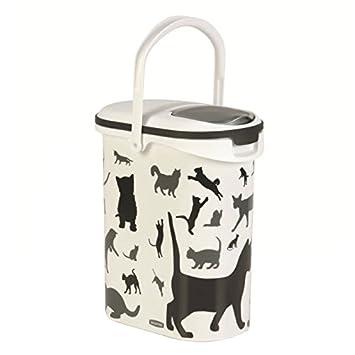 Curver Contenedor de Alimentos Secos de Mascota Gato, 10 L: Amazon.es: Productos para mascotas