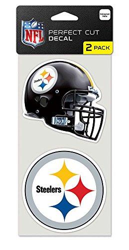 - WinCraft Pittsburgh Steelers Set of 2 Die Cut Decals