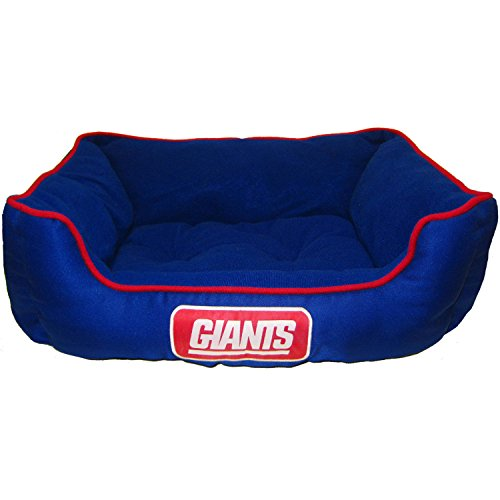 Pets First NFL New York Giants Pet Bed