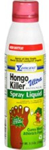 - Hongo Killer Ultra Antifungal Spray Liquid 5.30 oz (Pack of 3)