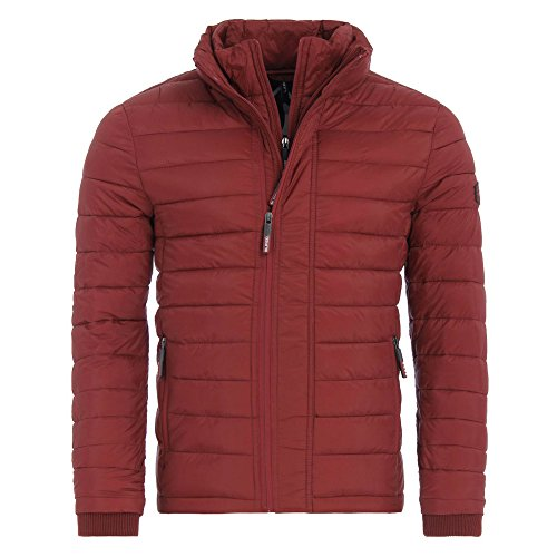 Homme Fuji ThroughVeste Rouge Sdx Superdry De Sport Zip Triple lcJu51T3FK