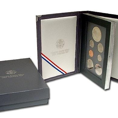 1991 S US Prestige Proof set In original packaging from mint Proof ()