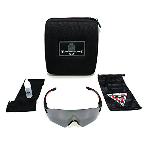 23312c8b24 ... discount code for amazon oakley si tombstone reap shooting glasses matt  black black iridium lens clothing