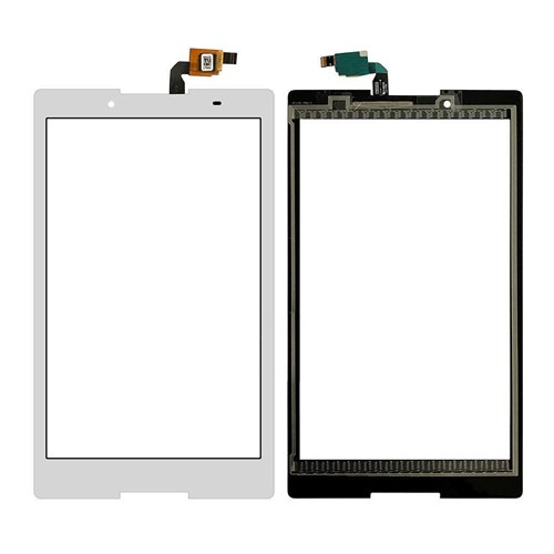Touch Screen LCD Display Digitizer for Lenovo (White) - 2