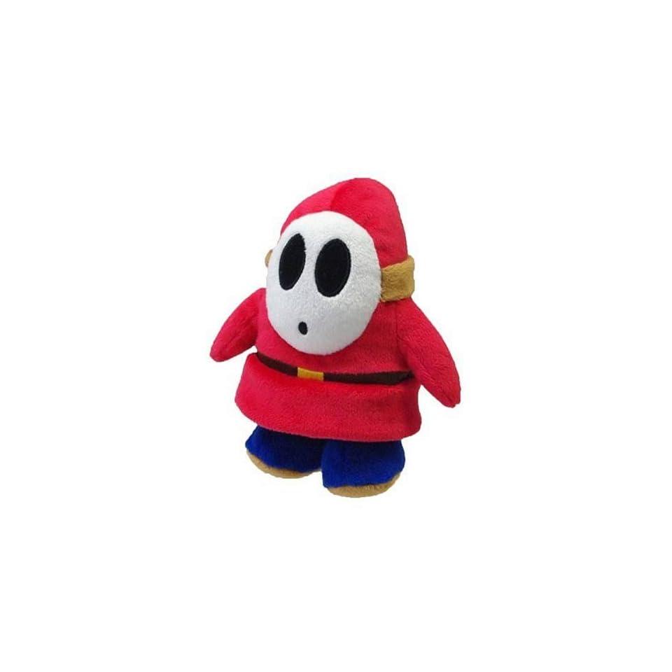 5 Official Sanei Shy Guy Soft Stuffed Plush Super Mario Plush Series Plush Doll Japanese Import