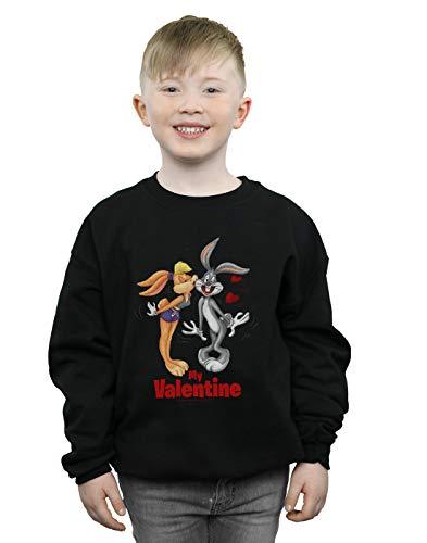 shirt Absolute Sweat Garçon And Looney Noir Bugs Day Bunny Tunes Valentine's Cult Lola wRSrPqwB
