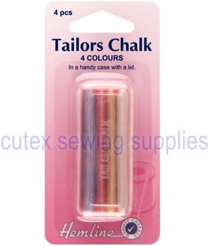 Hemline Tailors Clay Triangle Chalk Craft Dressmaker Sewing Marking Fabric White