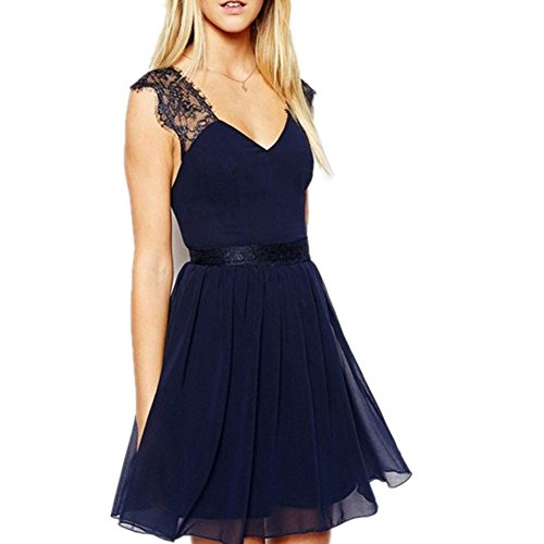 Pinkyee CLAK0233313 - Vestido Azul