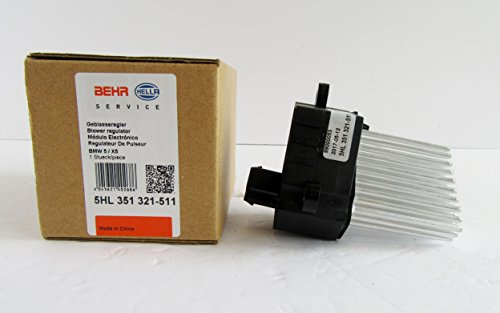 Behr Bmw Blower Motor (BEHR BLOWER MOTOR RESISTOR 3/1995-1998 BMW 318i CONVERTIBLE (WITH CLIMATE CONTROL) - 64116923204)