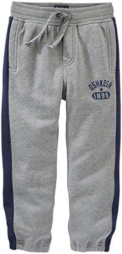 OshKosh B'Gosh Baby Boys' Knit Pant 11378911, Heather, 12 Months