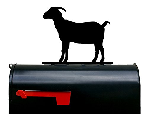 Goat Silhouette Mailbox Topper / Sign