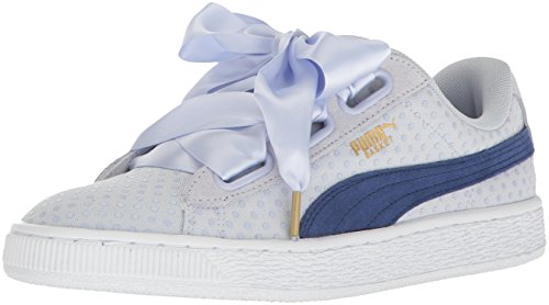 PUMA Damen Korb Herz Denim Halogen Blau-Twilight Blue