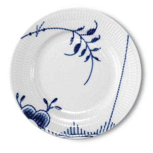 Fluted Mega Dinner Plate (Blue Fluted Mega 6.75