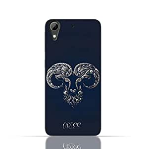 HTC Desire 826 TPU Silicone Case with Zodiac-Sign-Aries Design.