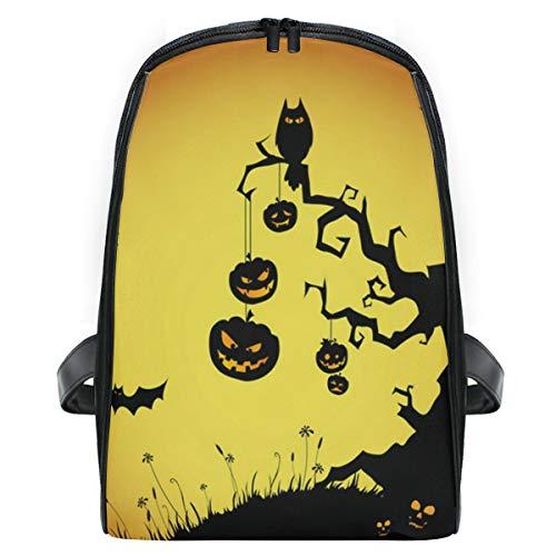Halloween Pumpkin Devil Night School Backpack For Boys Kids Primary School Bags Children -