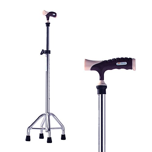 Walking Cane Aluminum crutches The All-Terrain Cane Freedom Edition crutch Folding the tripod by jiaminmin
