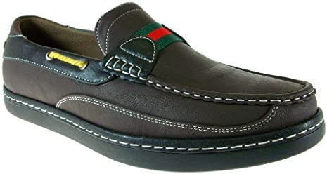 Ferro Aldo Men's Port Comfort Boat Slip On Casual Loafer Shoes